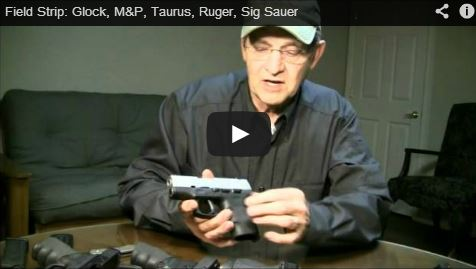 Field Strip: Glock, M&P, Taurus, Ruger, Sig Sauer | RGR
