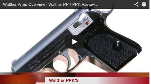 Walther Arms Overview - Walther PP / PPK Review & Field Strip
