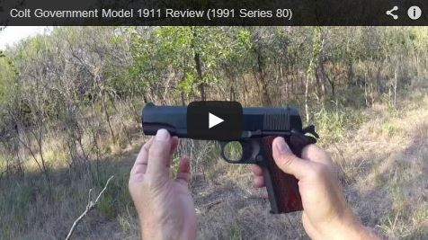 Colt Government Model 1911 Review (1991 Series 80) | RGR