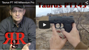 This is an on the range review of the compact .45 caliber Brazilian made Taurus PT 145 Millennium Pro.