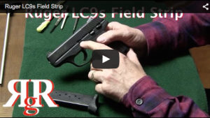 This is a video showing how to field strip the Ruger LC9s; the new striker fired LC9 from Ruger. It field strips like the hammer fired LC9 and LC380.